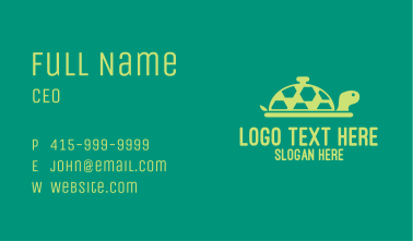 Turtle Dine In Business Card