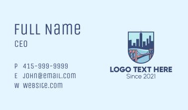 Brooklyn Bridge Business Card