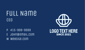 Global Pharmaceutical Company Business Card