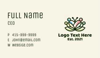 Lotus Family Center Business Card