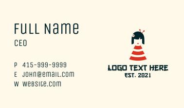 Wifi Geisha Girl  Business Card
