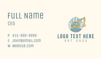 Cityscape Construction  Business Card