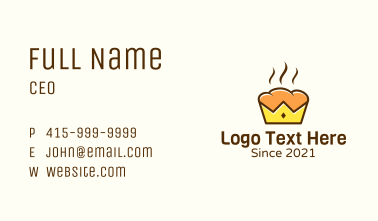 Hot Royal Bread Business Card