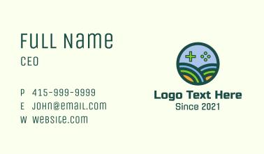 Gaming Farm Emblem Business Card