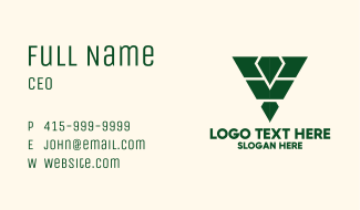 Gaming Army Shield  Business Card