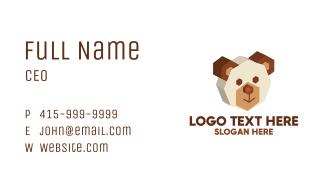 3D Bear Head Business Card