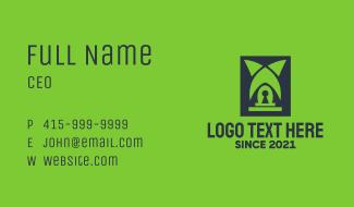 Professional Locksmith Service Business Card