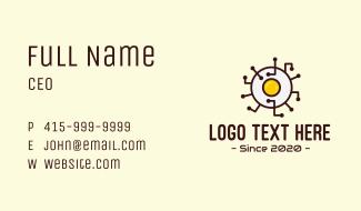 Egg Tech Network Business Card
