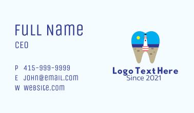 Lighthouse Dental Clinic  Business Card