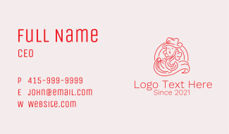 Noble Medieval Aristocrat Business Card