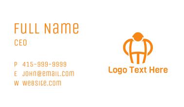 Orange Man Business Card