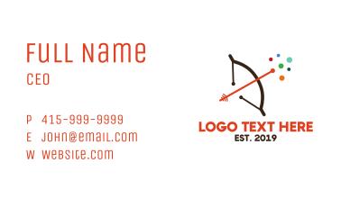 Archery Online Business Card