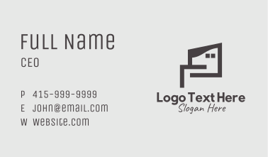 Town House Property  Business Card