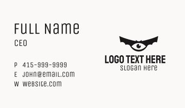 Bat Eye Business Card