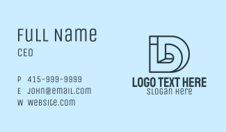 Corporate I & D Business Card
