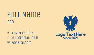 Blue Eagle Security Business Card