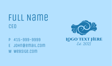 Astral Pisces Fish Business Card