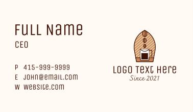 Brewed Coffee  Business Card