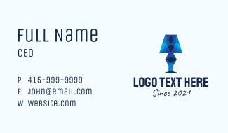 Geometric Lamp  Business Card