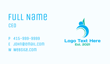 Modern Physiotherapy  Business Card