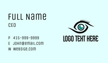 Eye CCTV Surveillance  Business Card