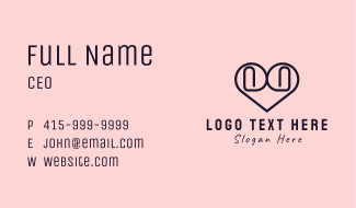 Office Love Business Card