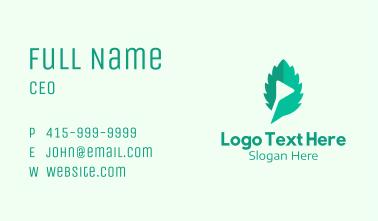 Green Leaf Media  Business Card