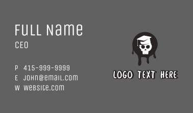 Skull Graduate Business Card