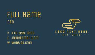 Corporate Toucan Mascot  Business Card