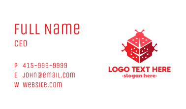 Bug Dice Business Card