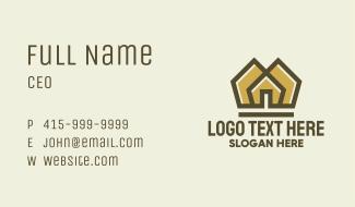 Gold Village Business Card