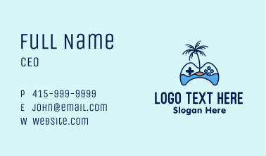 Paradise Island Gaming  Business Card