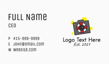 Buoy Digital Camera  Business Card