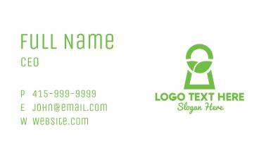 Green Secret Garden Business Card
