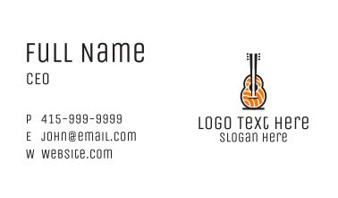 Guitar Sashimi Business Card