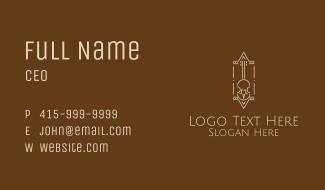Classic Violin  Business Card