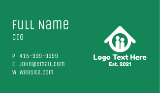 Residential House Business Card