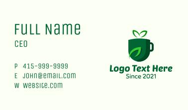 Herbal Tea Drink  Business Card