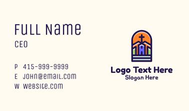 Chapel Cross Arch Business Card