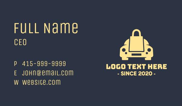 procurement - Car Security Locksmith Business card horizontal design