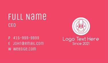 Sneaker Shop Badge Business Card