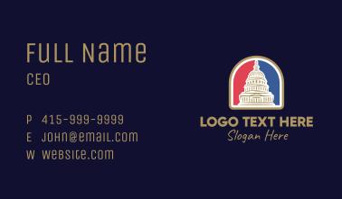 Washington Capitol Building Business Card