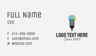Urban City Restaurant  Business Card