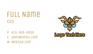 Goat Gaming Business Card
