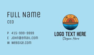 Beach House Resort  Business Card
