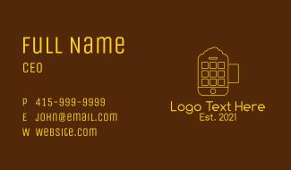 Smartphone Beer Mug  Business Card