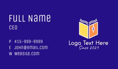 Book Online Class  Business Card