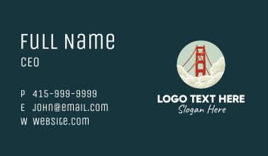 Golden Gate San Fransisco Business Card
