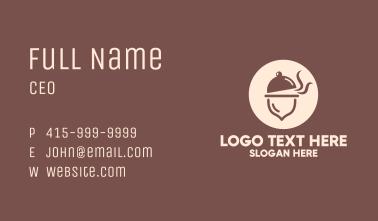 Acorn Dish Business Card