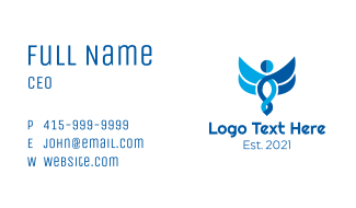 Doctors' Symbol  Staff Business Card